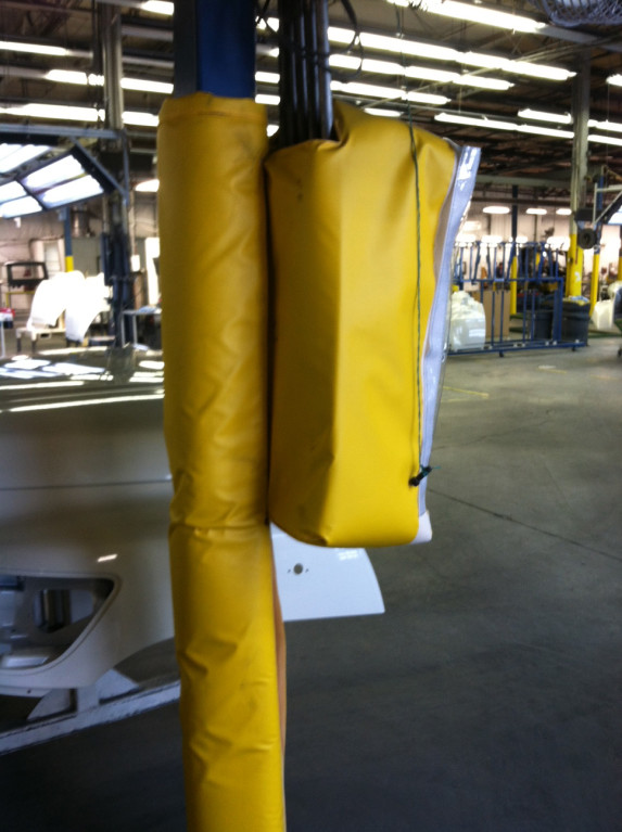 Bollard Post Covers Amp Sleeves For Safety Access Bariers