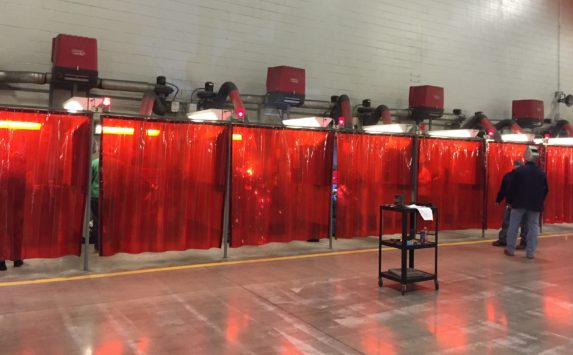 Welding Booth Curtains For Sale Custom Weld Safety Material