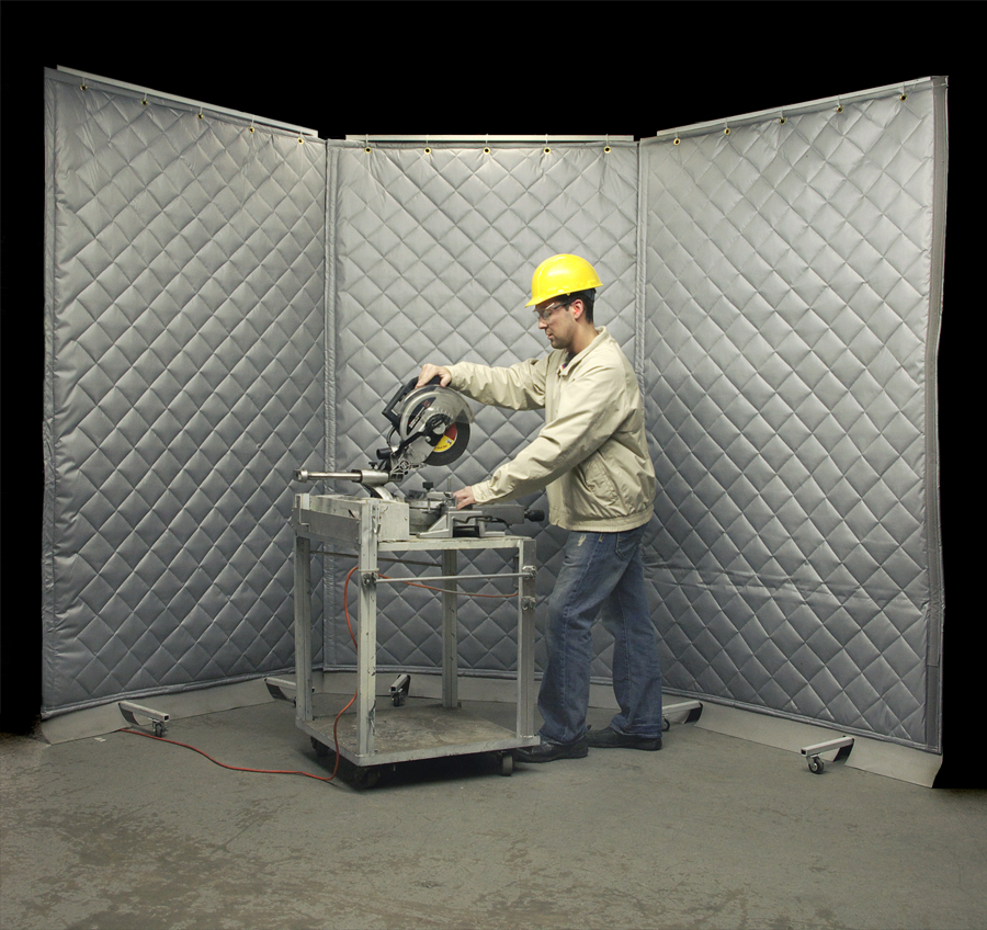 Acoustic Screens | Portable Sound Barriers