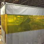 Welding Booth Curtains & Enclosure Cells