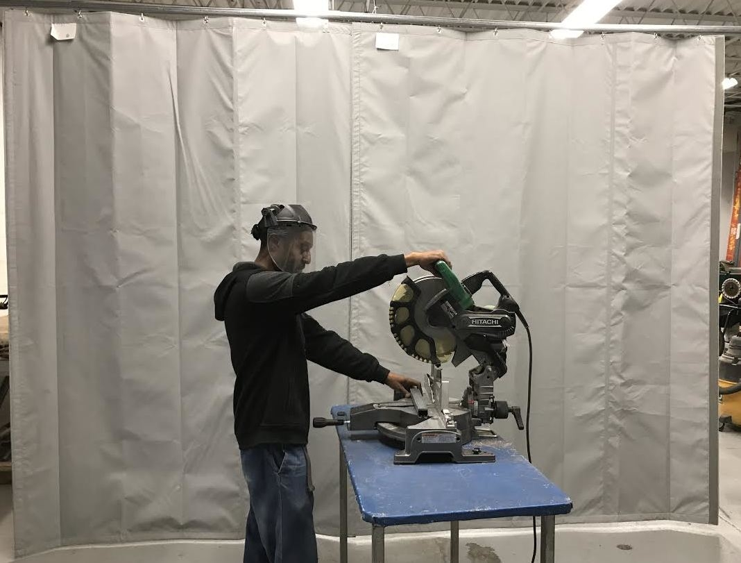 Industrial Noise Control Curtain   Heavy Curtains for Soundproofing