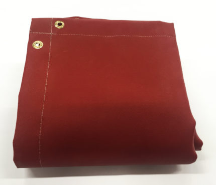 Silicone Coated Fiberglass Welding Blanket – Red Spark